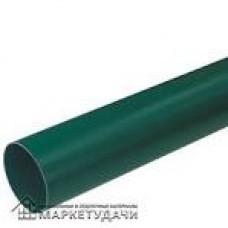 Труба водостічна 2м. д.100 зелена