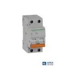 11216 Автоматичний вимикач 2п 32А ВА63 С SCHNEIDER