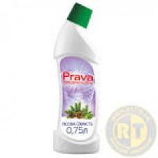96-232 Рідина для миття туалетів Prava (лісова свіжість) 0.75л