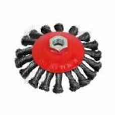 18-210 Щітка карцовка кругова закручена 100мм