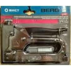 24-027 Зшивач обробний металев. для скоб 11,3*4-14 BERG гумова накладка