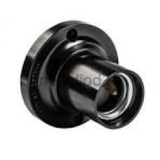 Патрон Е27 підвісний пластик,чорний (Н12 П-01)