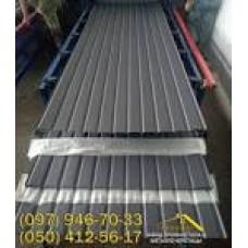 Профнастил ПС-10 8019 мат 0,45