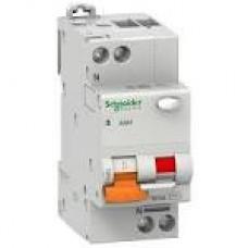 11475 Диф.автоматичний вимикач  АД63 2п 40А З 30мА SCHNEIDER