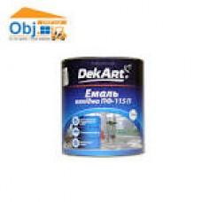 DekArt Емаль ПФ-115 Блакитна 2,8кг