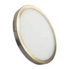 Світильник RIGHT HAUSEN круг SLIM LED PANEL 6W 4000K античне золото HN-234017