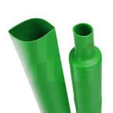 Термотрубка   4/2  зелена (1м )