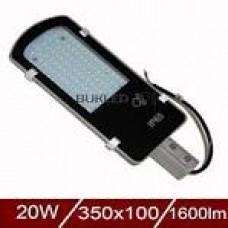 Світильник вуличний  LED--SLF-36W 390*140*65mm aluminium 6500K IP65