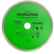 22-837 Алмазний диск для кераміки, 230мм Resource