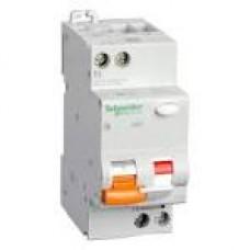 11474 Диф.автоматичний вимикач  АД63 2п 25А З 30мА SCHNEIDER