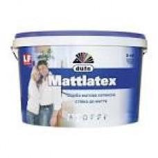 Фарба латексна D100 10л/14кг MATTLATEX DUFA