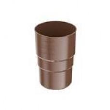 Муфта труби 90 мм Bryza \коричнева