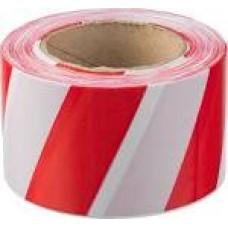 77-7100 Стрічка сигнальна червоно-біла 50мм 100м.