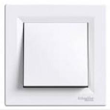 Вимикач 1-кл.самозажимний білий ASFORA ЕРН0100121