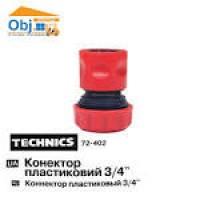 72-402 Конектор пластиковий 3/4 TECHNICS
