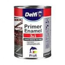 DELFI Грунт-Емаль 3в1 біла 2,8кг