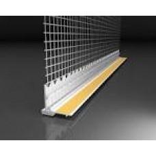 Профіль примикання віконних відкосів 2,4м з сіткою