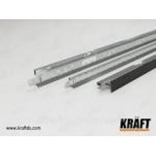 Профіль KRAFT Nova T-24 1200х25х24мм RAL9003