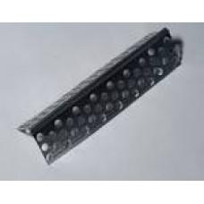 Кут аллюмінієвий перфорований 2,5м. (без сітки)