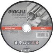 201108 Диск відрізний по метал Сталь 180х1,6мм WERK