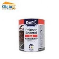 DELFI Грунт-Емаль 3в1 червона 2,8 кг