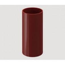 Труба водостічна 2м. д.100 червона
