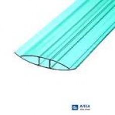 Профіль полікарбонат ПСН-6 мм бронзов. 6м