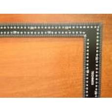 15-512 Кутник нержавіючий з алюмін. ручкою 250мм