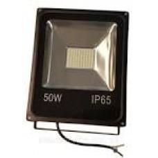 Прожектор LED-SLТ-10W 220В 750Lm 6500K SOKOL алюмінієвий корпус, гартоване скло