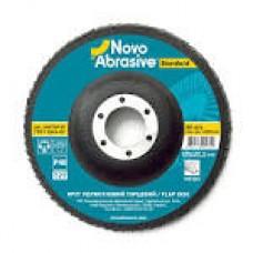 Диск  шліфувальний пелюстковий 125*22,2 т27 Р100 Novoabrasive Standard