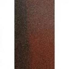 Коньково-карнизна черепиця кадриль , коричневий