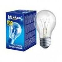 Лампа ЛЗП А55 230В  75 Вт Е27 прозора манжета