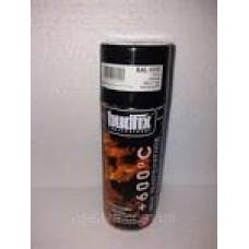 Фарба-спрей 400мл. жаростійка чорна (RAL 9005) NewTon
